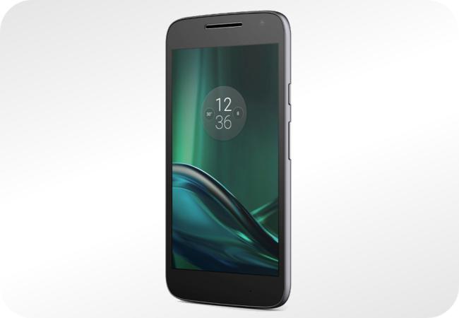 Lenovo Moto G4 Play Dual SIM - wygląd z przodu