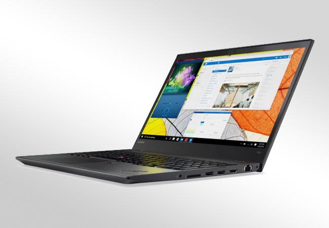 Lenovo ThinkPad T570 - Front