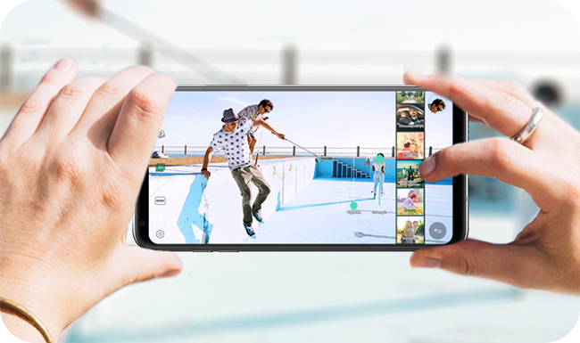 LG V30 - Aparat 16MPix z obiektywem Crystal Clear