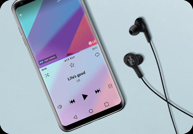 LG V30 - Przetwornik Hi-Fi