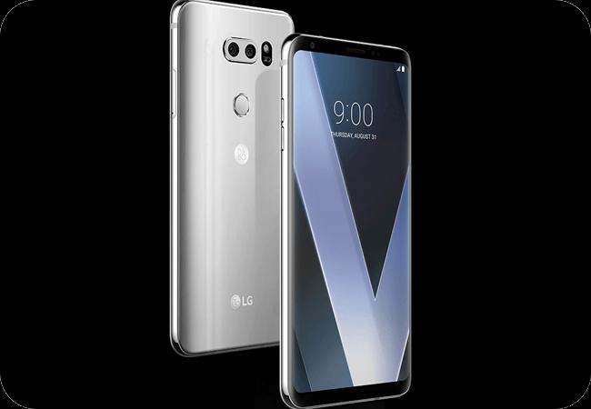 LG V30 - Wytrzymała konstrukcja