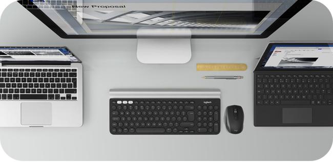 Logitech MX Anywhere 2S - praca nawet na trzech komputerach jednocześnie