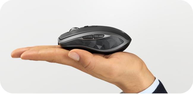Logitech MX Anywhere 2S - ergonomia