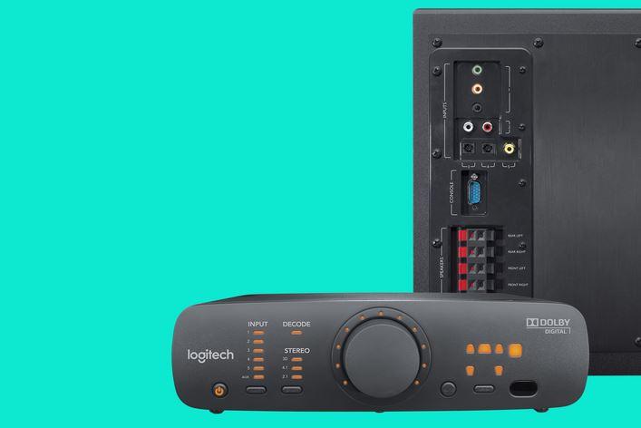Logitech Z906 - Пристрої