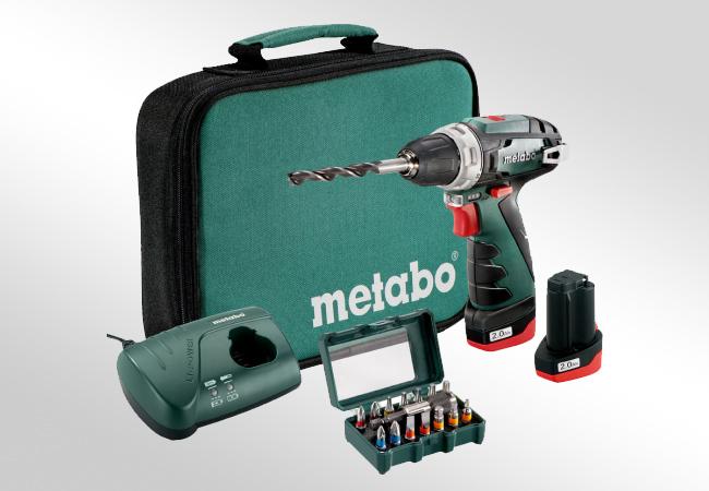 Metabo PowerMaxx BS - funkcjonalne dodatki