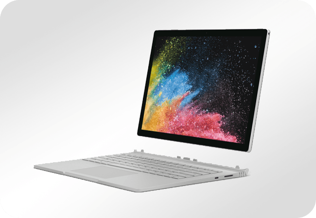 Microsoft Surface Book 2 - Front