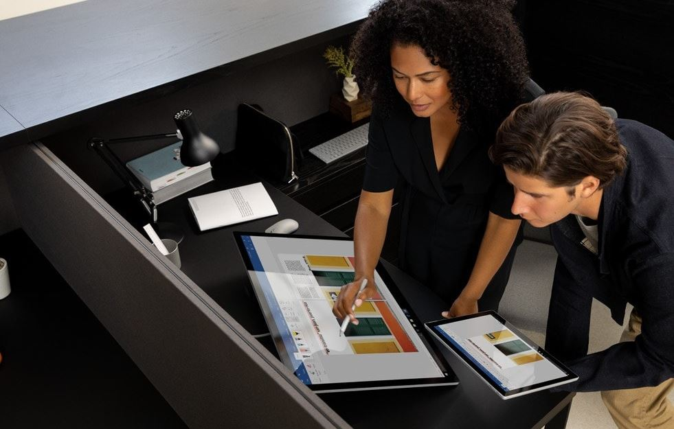 Microsoft Surface Studio 2 - Tryby pracy