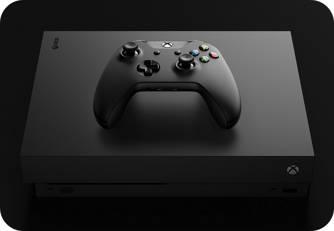 Microsoft Xbox One X - design