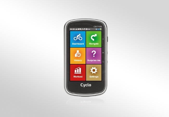 Mio Cyclo 405 - wygląd