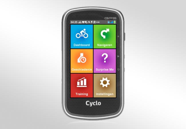Mio Cyclo 605 - Front