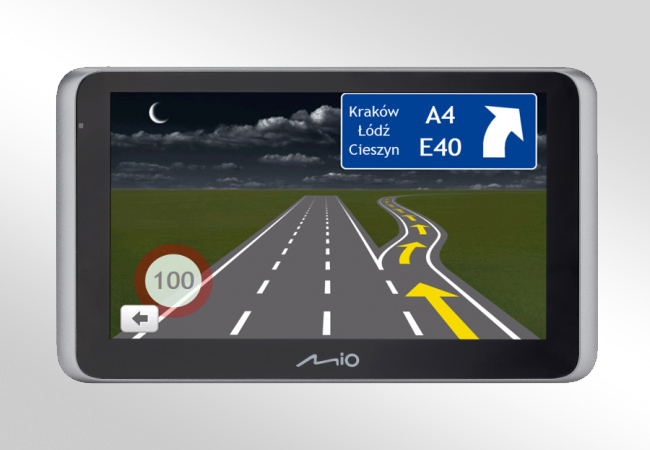 Mio MiVue Drive 65 2in1 FULL EUROPE LM - Front
