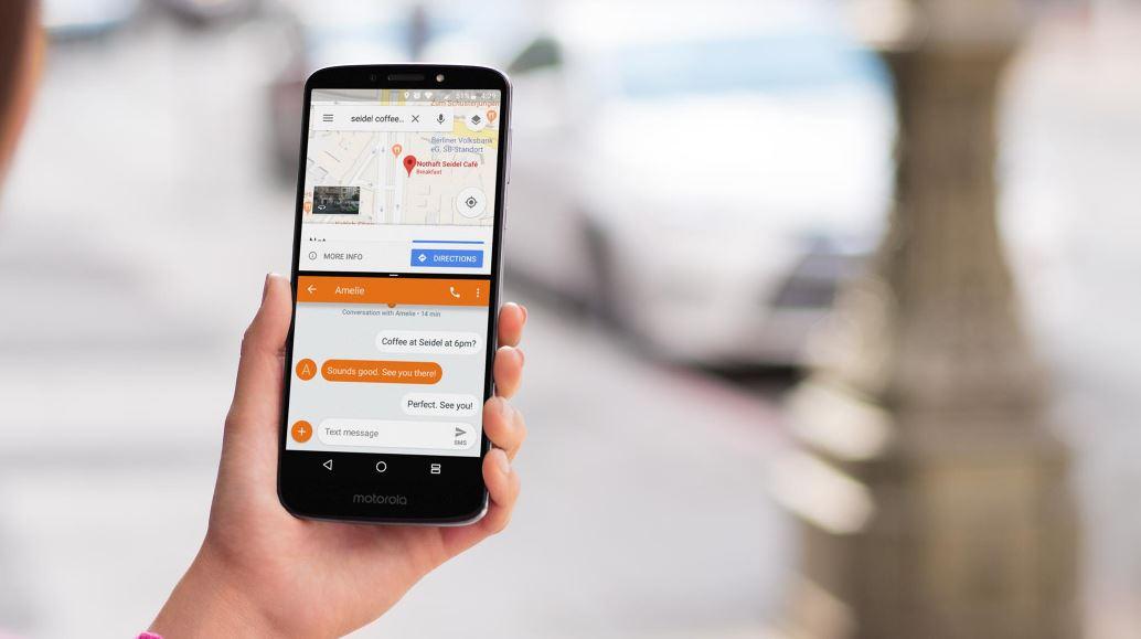 Motorola Moto E5 Plus - Działanie