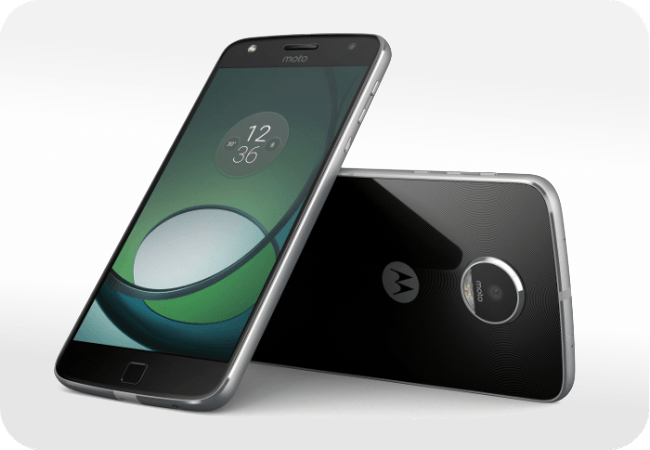 Motorola Moto Z Play Dual SIM - Czytnik linii papilarnych