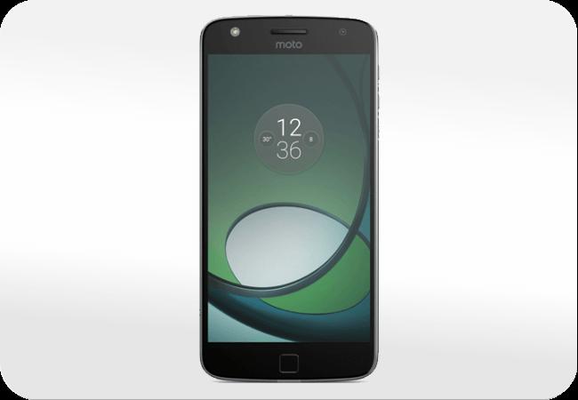 Motorola Moto Z Play Dual SIM - Wygląd z przodu