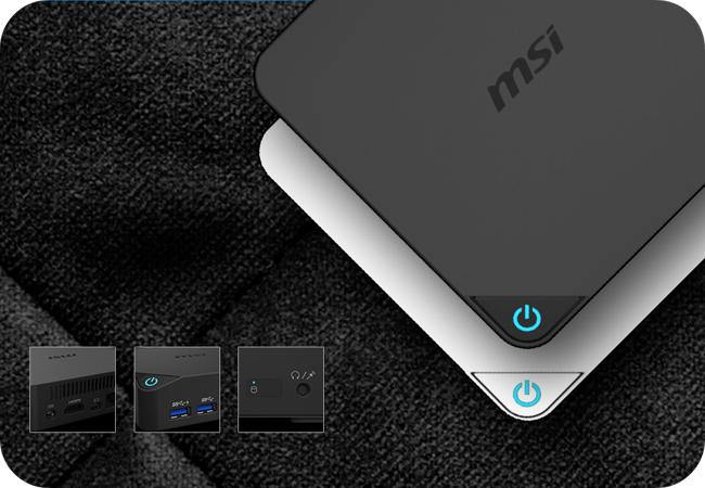 MSI Cubi - design