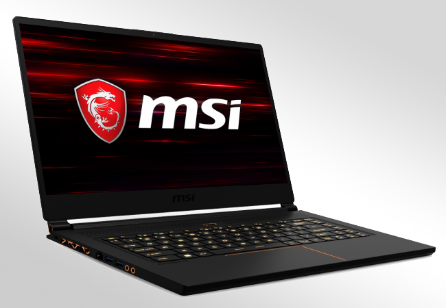 MSI GS65 - Front