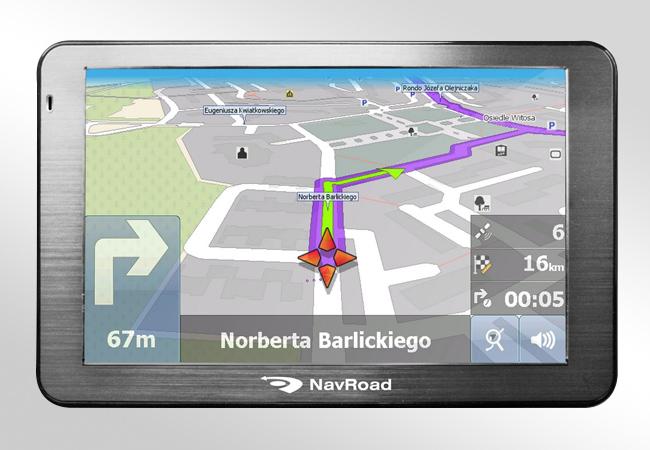 NavRoad Drive HD - Czytelne mapy