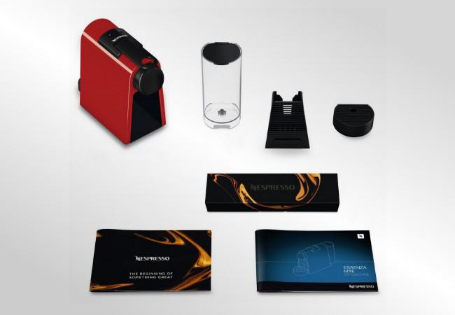 Nespresso D30 Essenza Mini - Wyposażenie