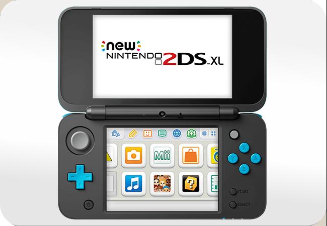 New Nintendo 2DS XL - Wygodny układ przycisków
