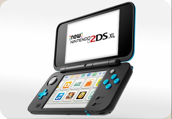 New Nintendo 2DS XL - wygląd z przodu