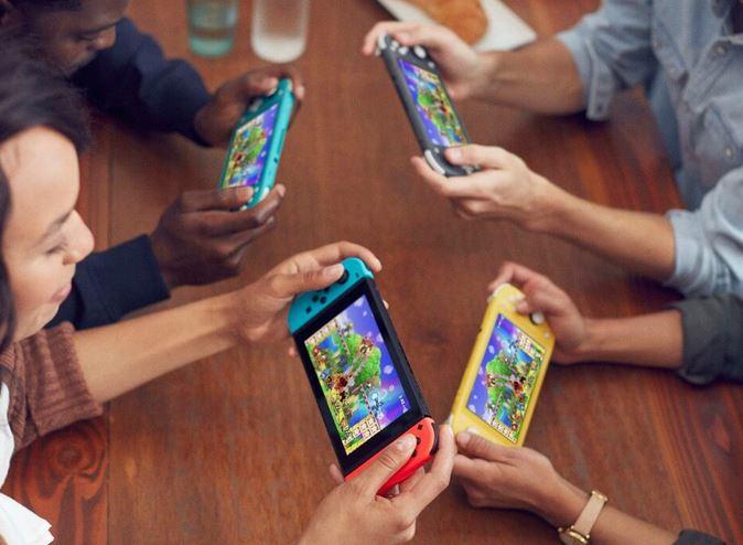 Nintendo SWITCH Lite - Myltiplayer