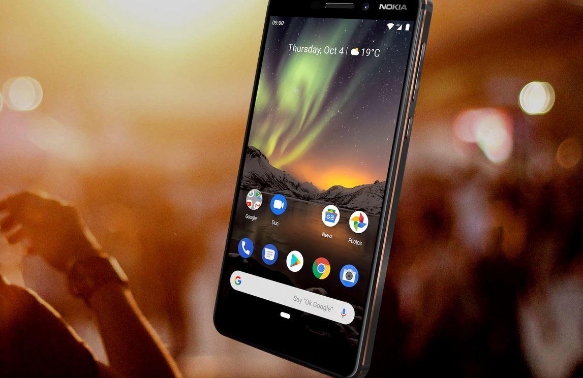 Nokia 6.1 Dual SIM - Zabezpieczenia