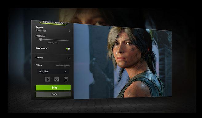 NVIDIA GeForce GTX 1650 - NVIDIA Ansel