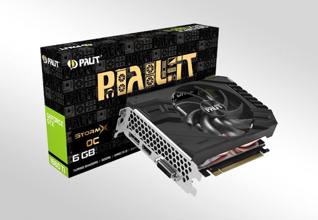 NVIDIA GeForce GTX 1660 Ti - Front