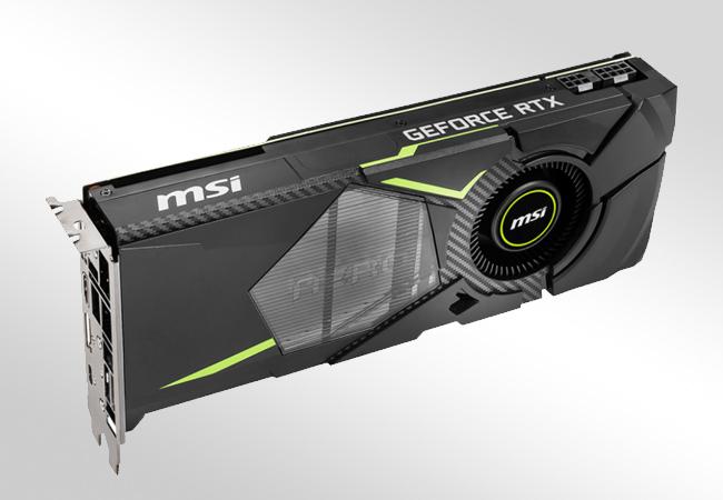 NVIDIA GeForce RTX 2070 - Zasilanie