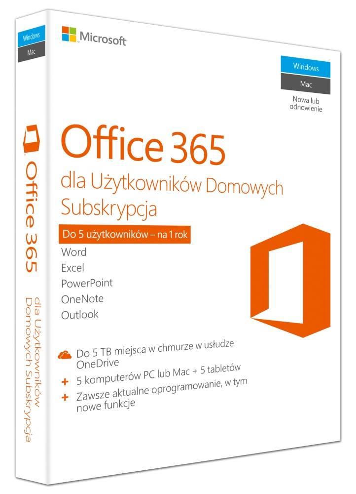 Microsoft Office 365 dla Użytkowników Domowych