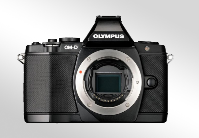 Olympus E-M5 Mark II - Front