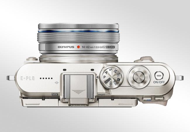 Olympus E-PL8 Pancake Kit 14-42EZ - Obiektyw