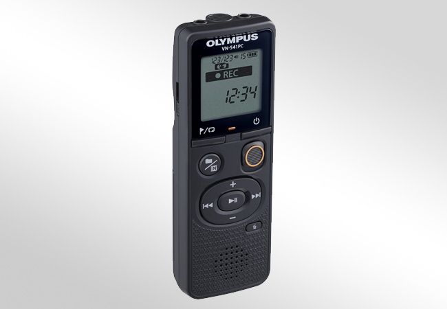 Olympus VN-541PC - Front