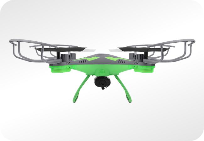 Overmax X-Bee Drone 3.1 Plus WiFi - wygląd z przodu
