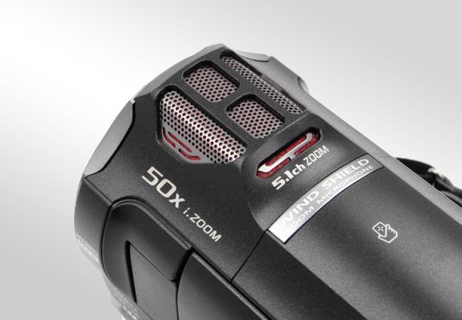 Panasonic HC-V770 - Mikrofon