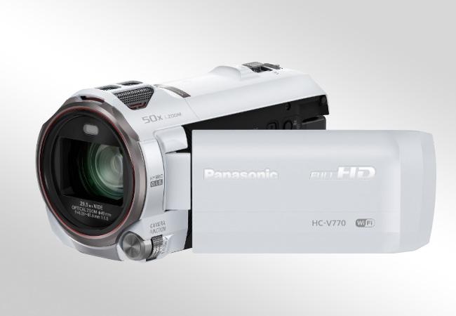 Panasonic HC-V770 - Obsługa