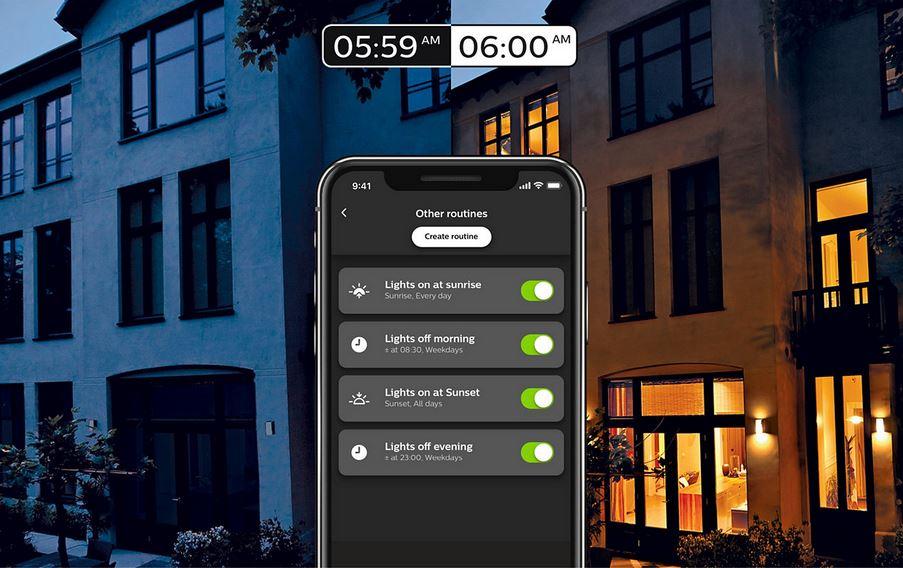 Початковий набір Philips Hue Bluetooth для управління розумним освітленням