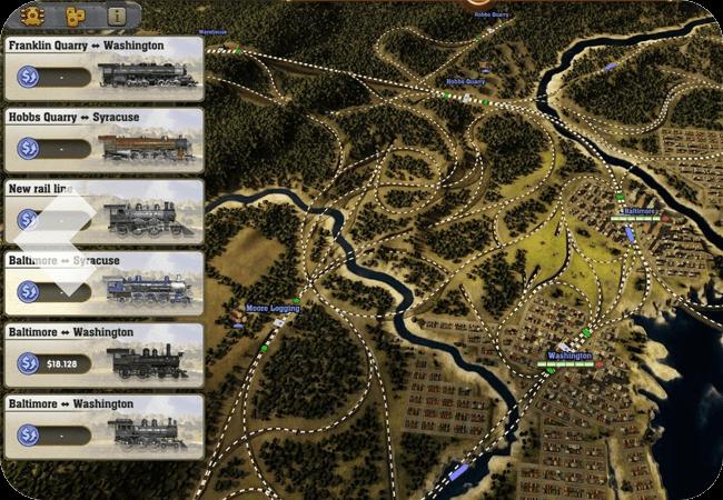 Railway Empire - Duży przedział czasowy
