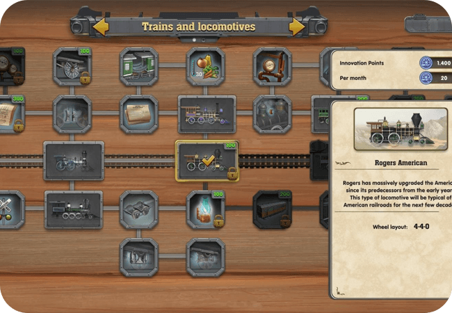 Railway Empire - Różne tryby gry