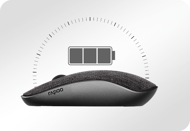 Rapoo 3510 Plus - Energooszczędność