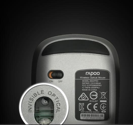 Rapoo 3510 Plus - Precyzja działania