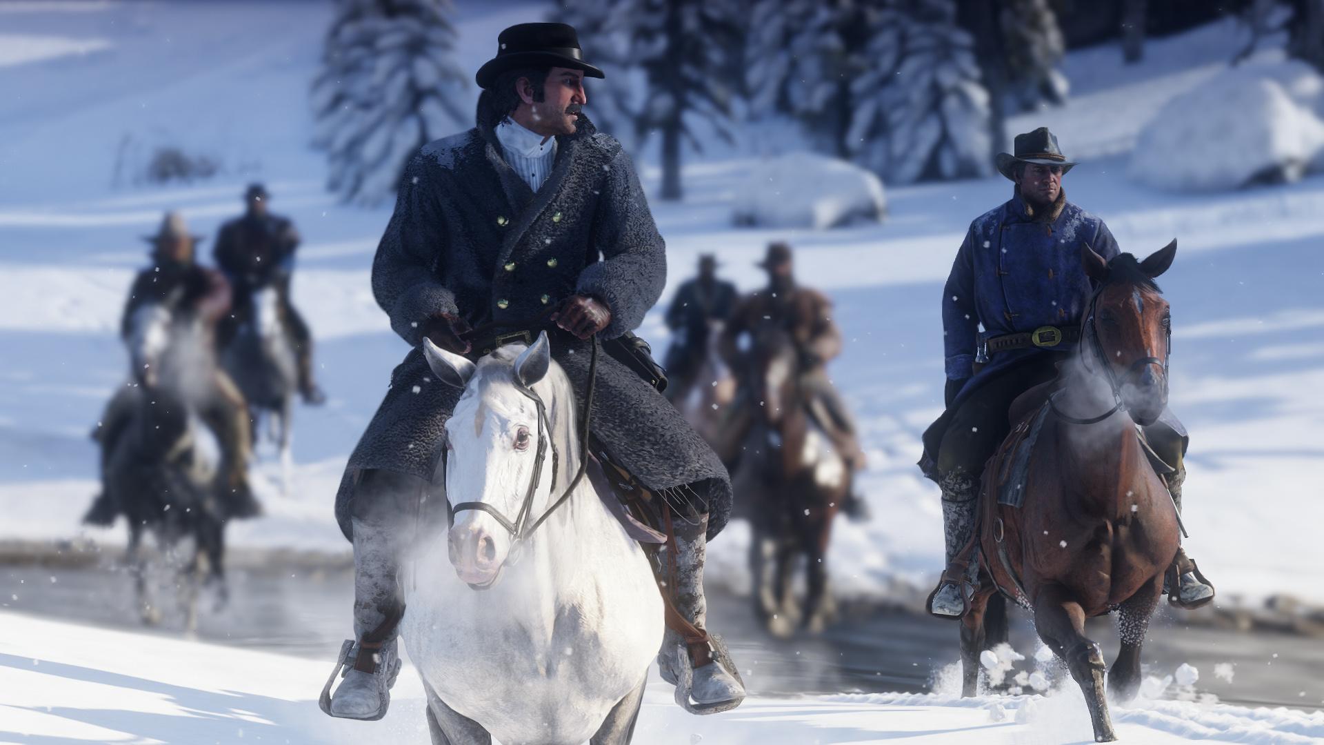 Red Dead Redemption 2 - grafika