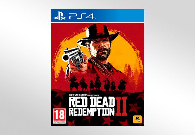 Red Dead Redemption 2 - okładka