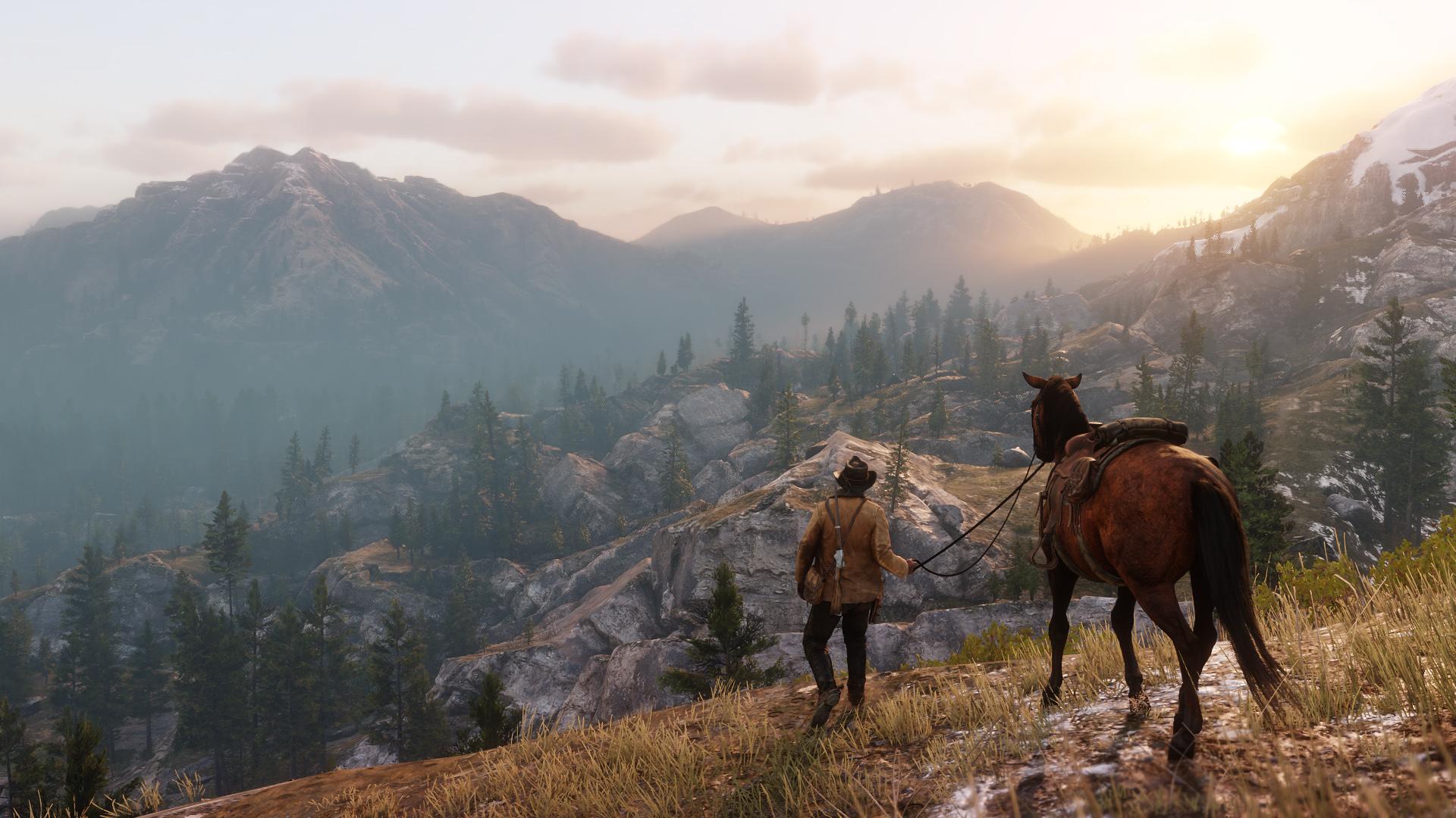 Red Dead Redemption 2 - otwarty świat