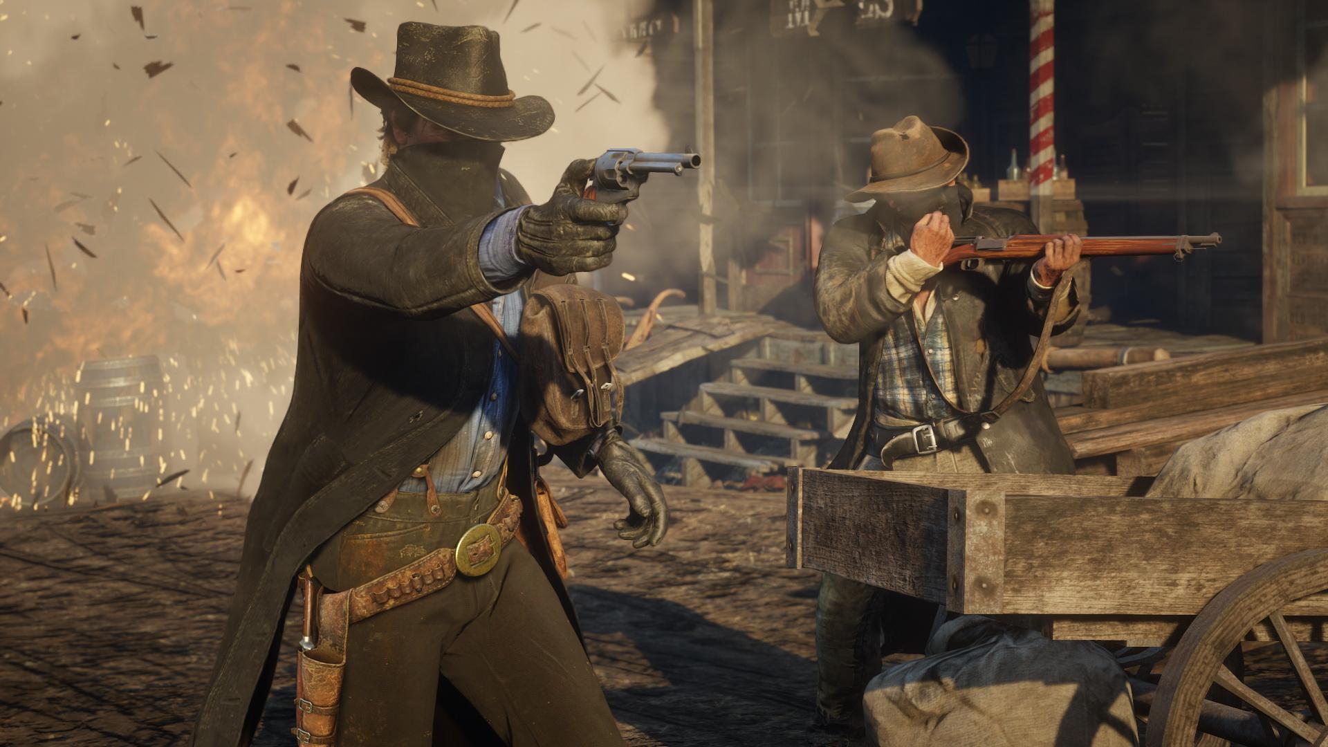 Red Dead Redemption 2 - walka