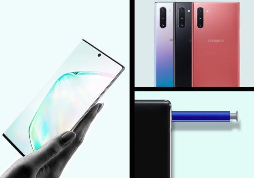 Samsung Galaxy Note 10 - konstrukcja