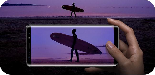 Samsung Galaxy Note 8 - doskonały aparat