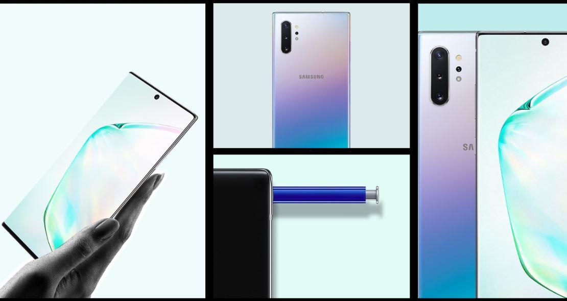Samsung Galaxy Note 10+ - Design