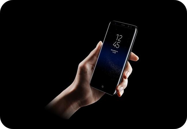 Samsung Galaxy S8+ - ekran o przekątnej 6,2 cala