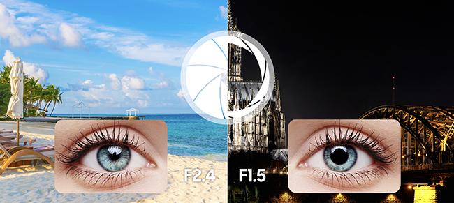 Samsung Galaxy S9 (G960) - aparat z podwójną przesłoną
